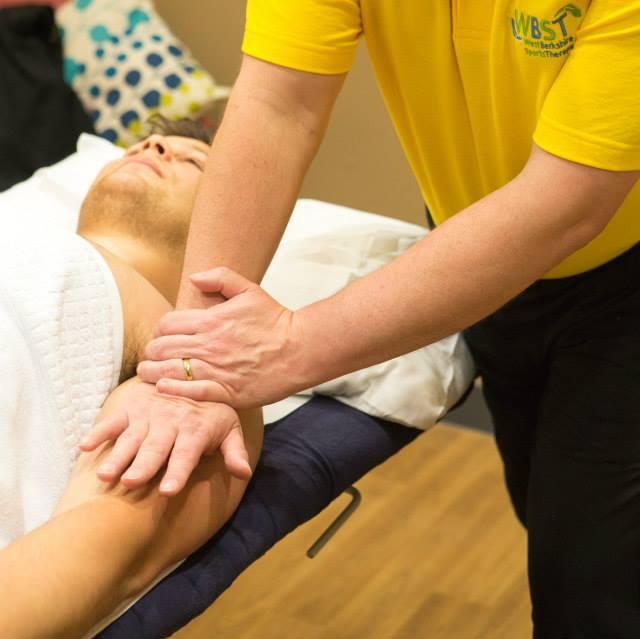 sports therapy massage injury