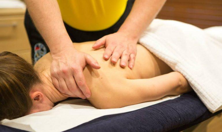 Osteopathy sports massage