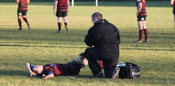 Rugby injury sports therapy