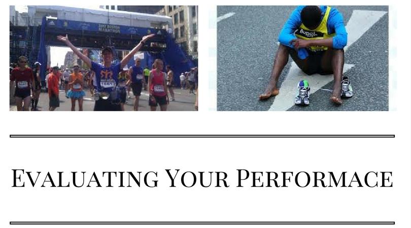 Evaluating Your Marathon Performance